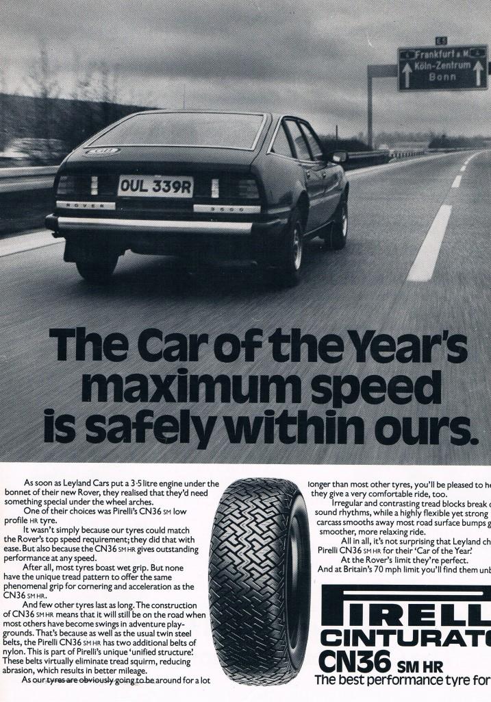 pirelli cinturato tyres, advert