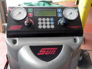 air-con service machine