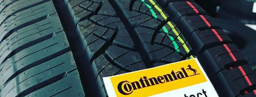 New tyre labelling continental