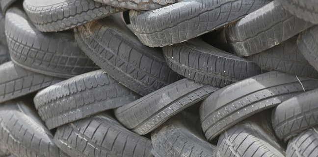 old part worn tyres
