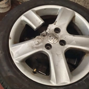 How Not to get at Your Locking Wheel Nuts