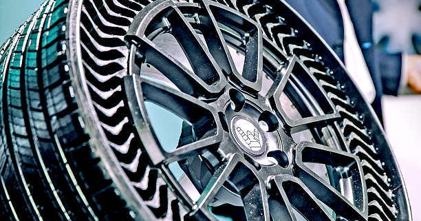 Michelin Uptis tyre